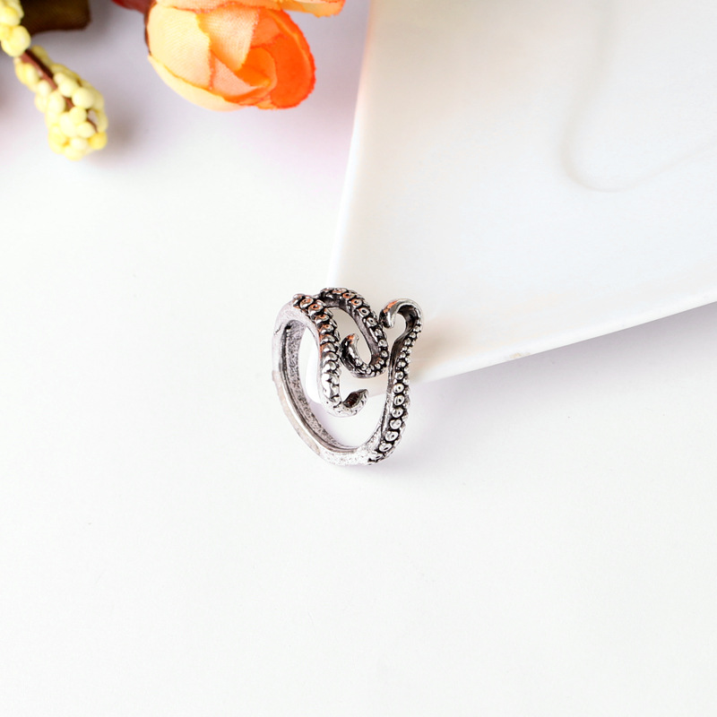 com sea men claw vintage item on accessories jewelry claws octopus monster aliexpress titanium from ring rings alibaba in squid adsorption couple