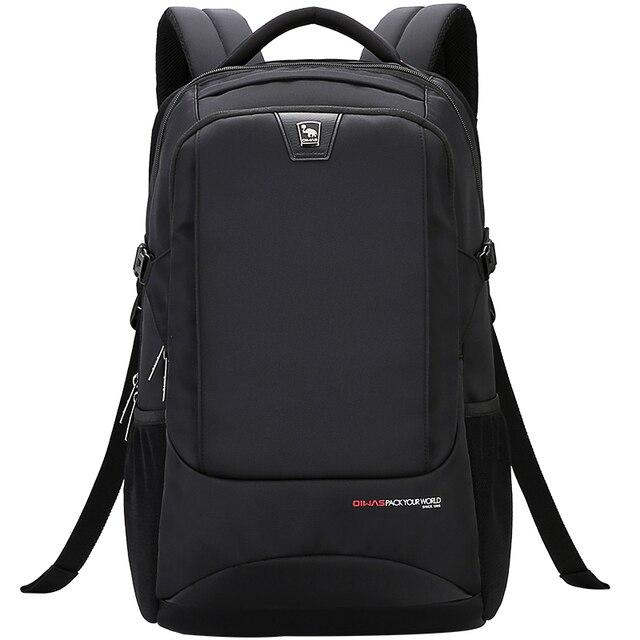 53dc80d2208a Oiwas ноутбук рюкзак школьные сумки Бизнес Путешествия Carry-on рюкзака 14  дюймов OCB4308
