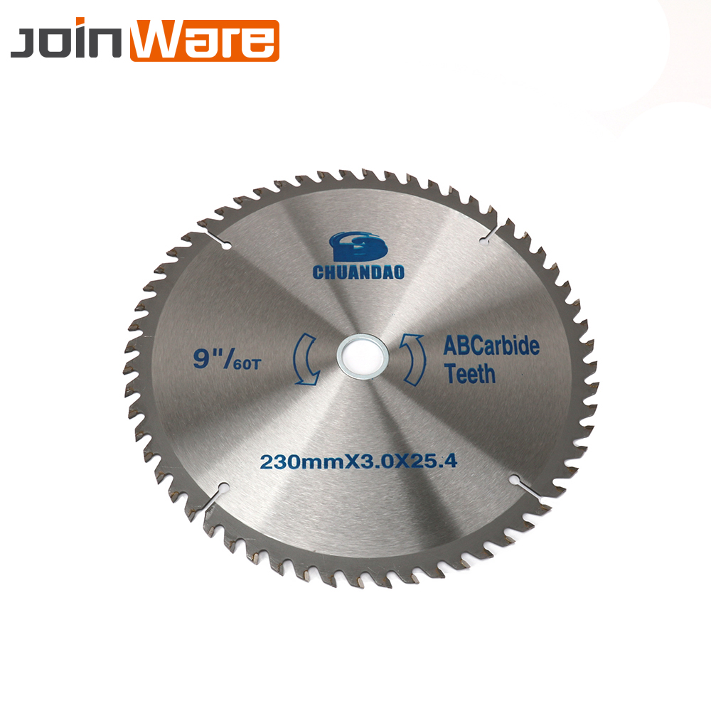 1Pc 230mm 40T 60T Carbide Circular Saw Blade Woodworking Cutting Disc For Wood Aluminum 230mmx2.2x25.4x40T/60T Cutter Power Tool