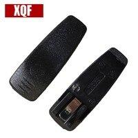 מכשיר הקשר קליפ חגורה חסון 10pcs XQF מכשיר הקשר אביזרים עבור מוטורולה GP3688 / CP040 / CP140 Handy CB רדיו Communicator (1)