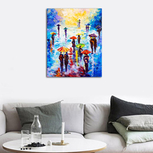 Laeacco Nordic Canvas Painting Modern Abstract Graffiti Posters Prints Wall Art Pictures Living Room Home Decor Unframed Poster