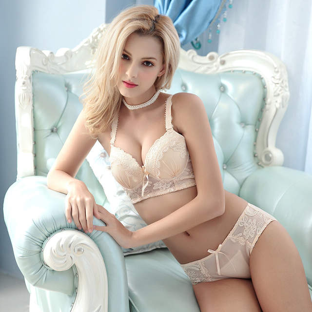715426c0803 TAINY New Young Girls Embroidery Lace Adjustable Women Sexy Lingerie  Underwear Bra Breifs Sets