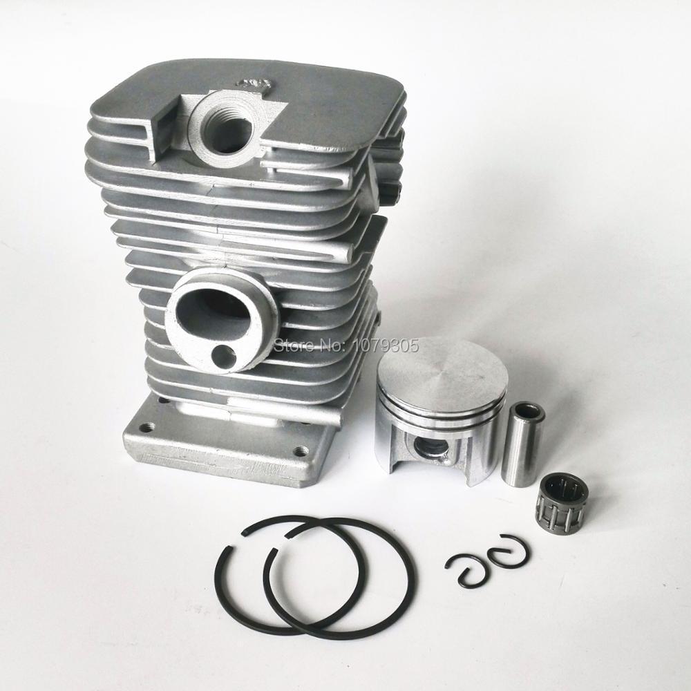 38mm Cilindro Pistone Anelli Kit Per STIHL MS180 MS 180 018 Motosega Cuscinetto A Rullini