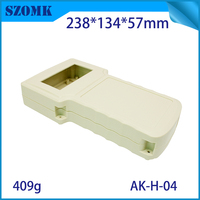 One Piece ABS Housing Control Box Waterproof Case 238 134 50mm Szomk Plastic Enclosure For Electronic
