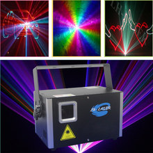 90V-240V 5W Changeable full color rgb programable laser lighting With Free ishow software and sd card(China)