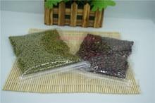 14x20cm, 100pcs/Lot Transparent ziplock bag, All clear PET plastic pouches zipper reclosable Food storage package