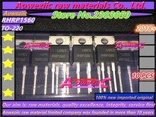 Aoweziic 2018 + 100% nowe importowane oryginalne RHRP1560 RHR1560 TO220 2 diody szybkiego odzyskiwania 15A 600 V