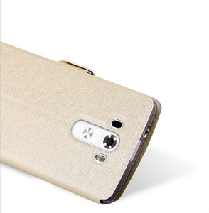 Image 3 - شاهد نافذة الجلود حقيبة لجهاز LG G3 G4 لينة غطاء حقيبة غطاء الوجه الفاخرة ل LG G3 D855 D850/G4 H818 H815 F500 غطاء الهاتف Funda