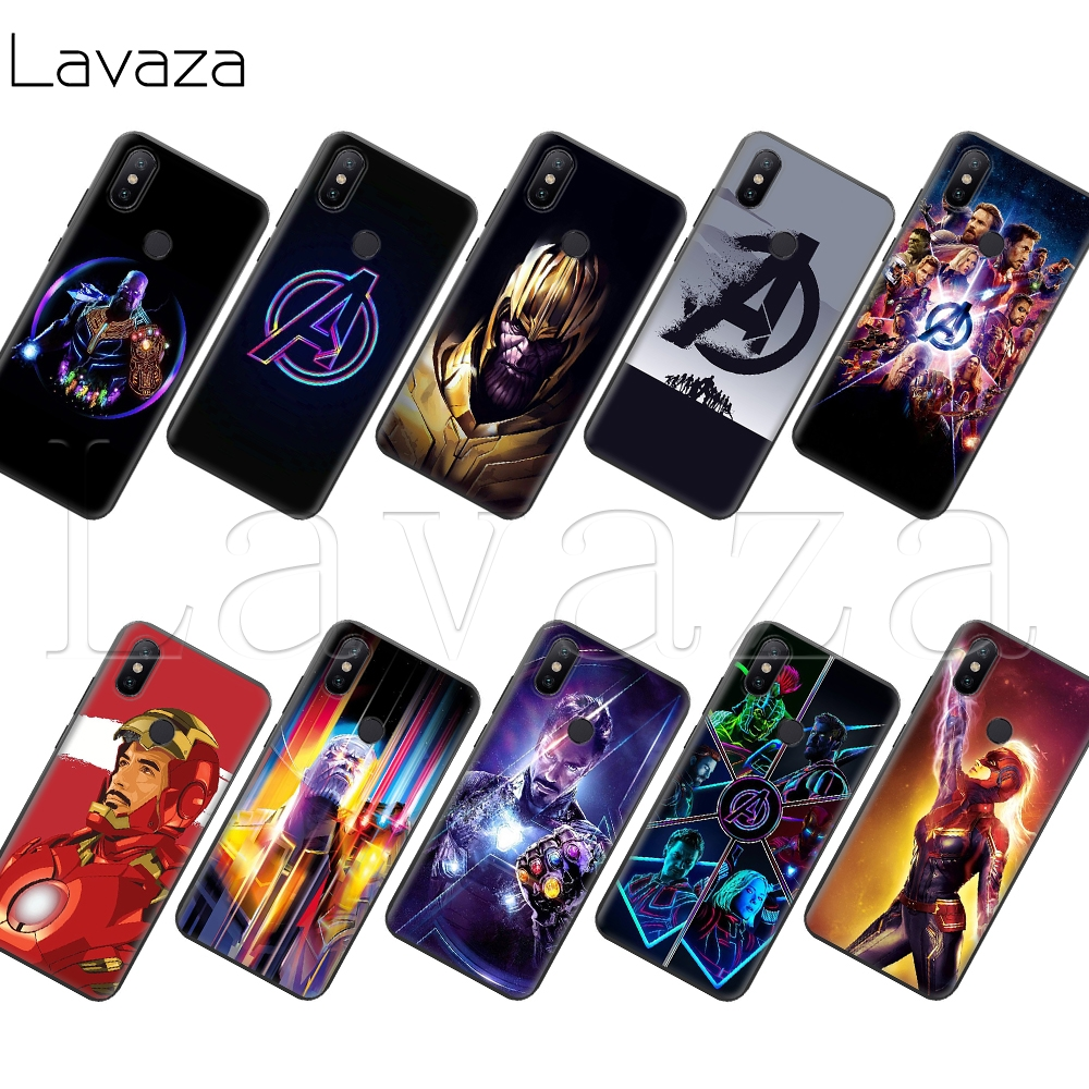 Lavaza Silicone-Case Thanos Avengers Xiaomi Redmi Note-4 Go-Prime-Plus 6a For Note-4/4x4a/5-5a/..
