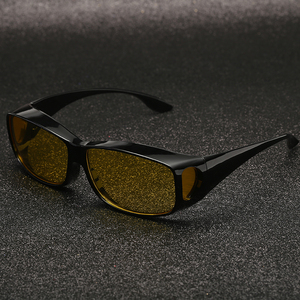 Image 2 - ZK30 רכב נהיגה משקפיים ראיית לילה בטיחות מקוטב משקפי משקפי שמש HD ראיית שמש משקפיים Dropshipping UV הגנה
