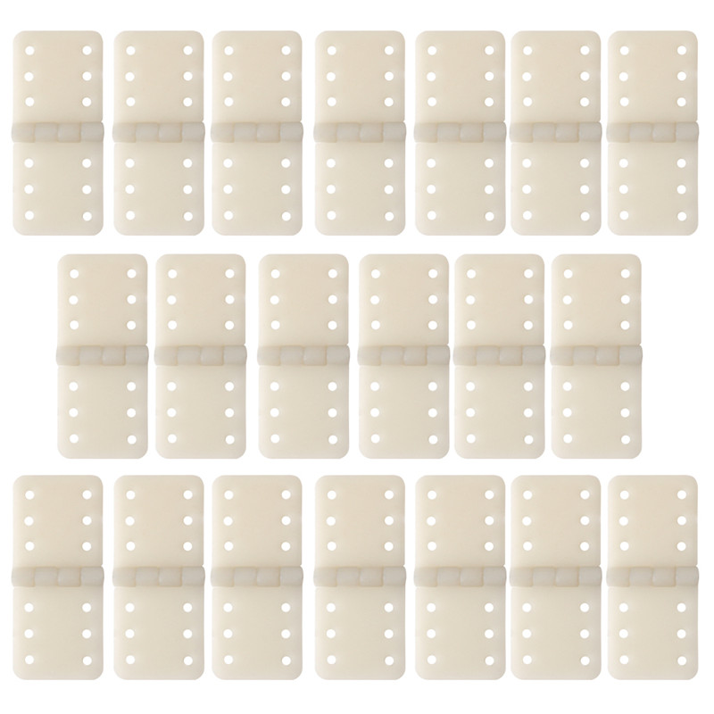 New 20pcs Hinge Linker Plastic Small for RC Airplane Aircraft Helicopter Quadcopter Gift