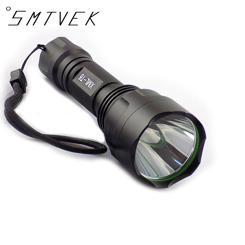 CREE XML-T6 LED Flashlight Torch Light 5 Modes  2000lm Linternas Rechargeable Flashlights Powerful Tactical Multipurpose Lamps 6000lumens bike bicycle light cree xml t6 led flashlight torch mount holder warning rear flash light
