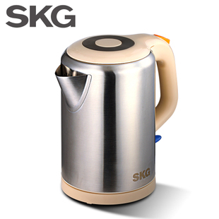Skg sw-1809 0 plastic 304 full stainless steel electric heating kettle water bottle