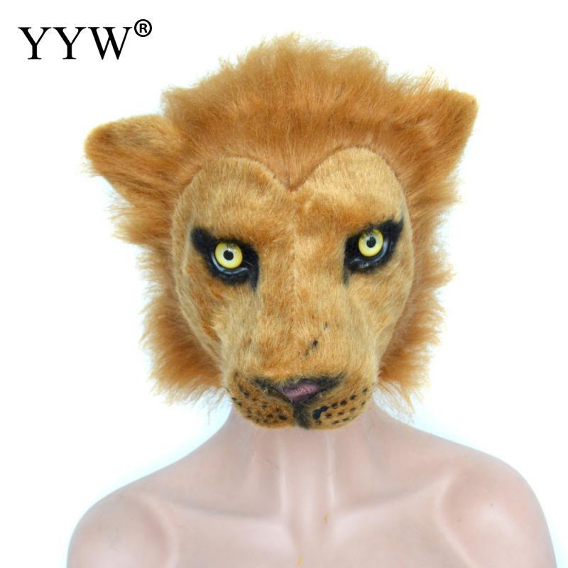 Animal Masks Pig Lion Tiger Cosplay Costume Party Carnival Halloween Masks Mascaras Halloween Masker Unisex Full Face Mask in Party Masks from Home Garden