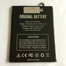 Battery For DOOGEE Y6 & Y6C 5.5inch Mobile Phone Built-in 3200mAh Batteries Rechargeable Li-ion Bateria Repair Tools