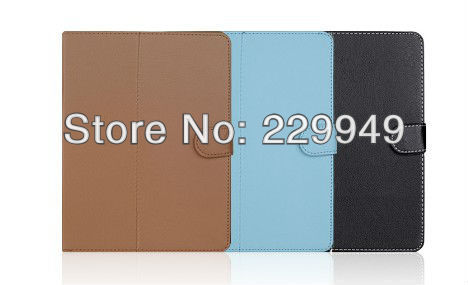 "9.7""inch Universal Rotatable Leather Case for Tablet PC"