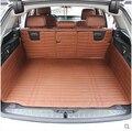 Mejores ventas! tronco especial esteras para BMW 5 Series F11 2015-2010 impermeable durable arranque alfombras para BMW f11, envío gratis