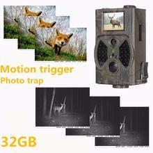 Фотоловушка для фотоловушки 1080p 32 ГБ
