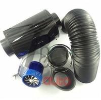 Car Styling Refit Air Filter High Flow Carbon Fiber Air Box Air Clearner