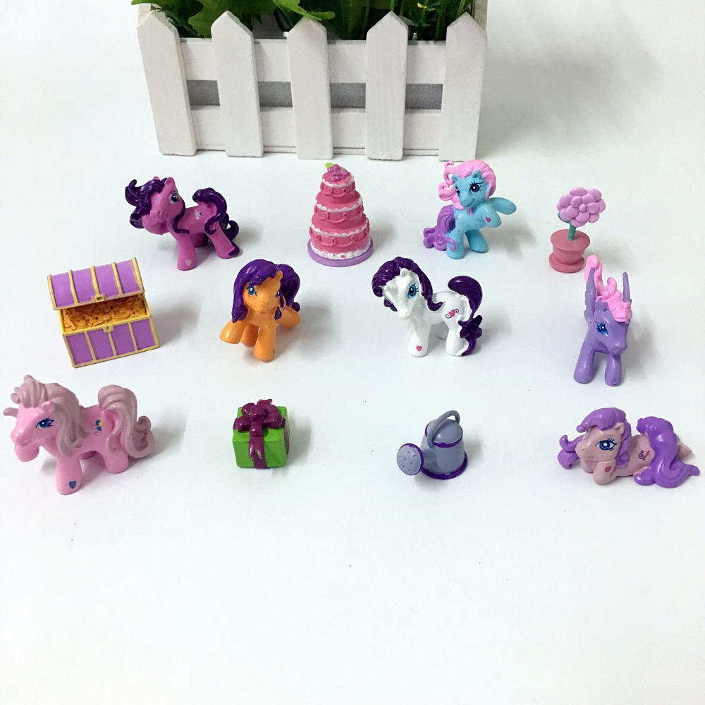 54pcs/lot small Pony with accessories have repeat