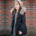 2016 Brand Girls Winter Coats Children's Down Coat Girls Outerwear & Coats Big Fur Collar Child Down Jackets Girl Warm Parkas