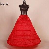 Ball Gown Free Shipping Black Slip Black 6 Hoop Petticoat Under Skirt Crinoline Long Wedding