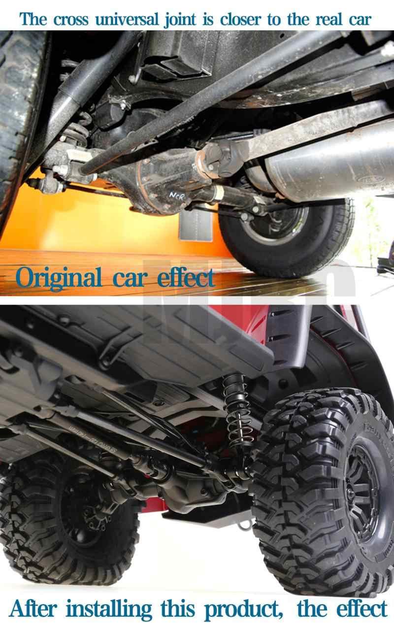 Cvd de alta resistencia eje de transmisión de aleación de acero Universal junta de acero para Trx4 Traxxas Trx-4 1/10 Rc Coche