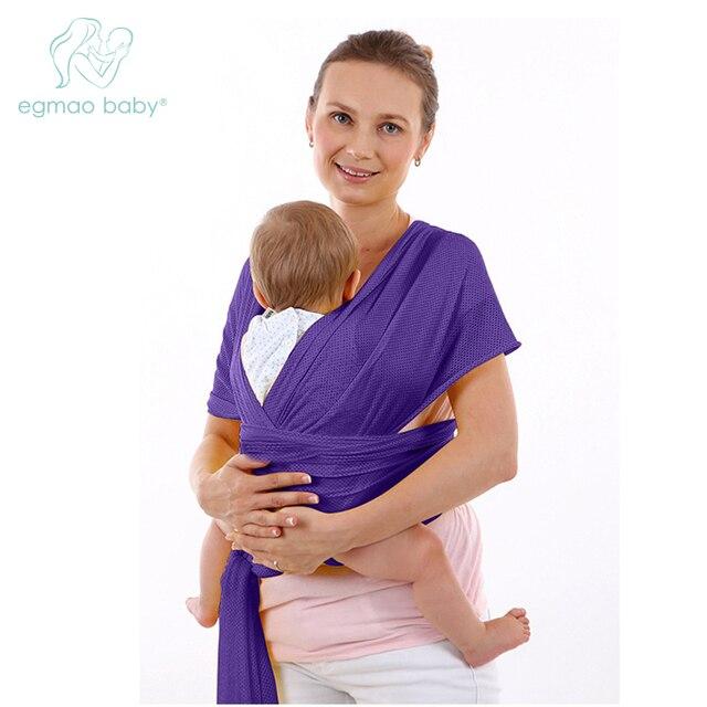 Respirant porte-bébé sac à dos avec polyester et tissus matériel anneau  d eau 92c36e183c5