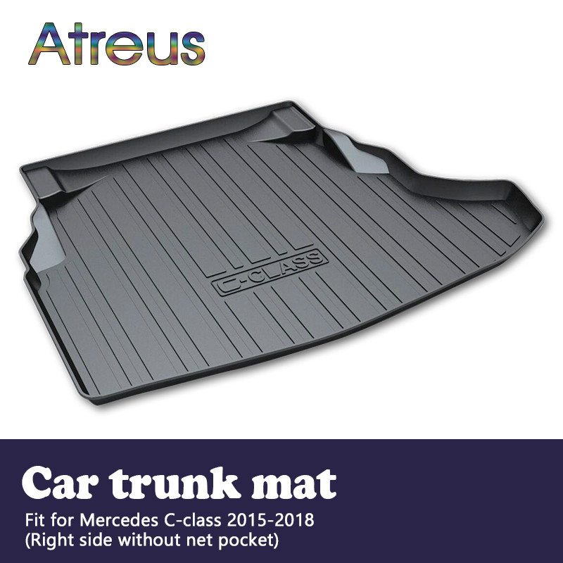 TAILORED RUBBER BOOT LINER MAT for Mercedes W205 S205 Estate since 2014
