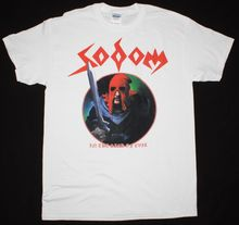 SODOM IN THE SIGN OF EVIL THRASH KREATOR VENOM HELLHAMMER NEW WHITE T-SHIRT Short Sleeves Cotton T Shirt Free Shipping TOP TEE 2018 cd box set avril lavigne marsha real new free shipping in the minds of evil deicide cd seal