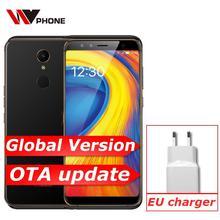 هاتف محمول أصلي Gome U7 بذاكرة وصول عشوائي 4 جيجا بايت وذاكرة داخلية 64 جيجا بايت 4G FDD LTE هاتف محمول Helio P25 ثماني النواة بشريحتين 5.99 بوصة FDH التعرف على القزحية 13 + 13 ميجابكسل NFC