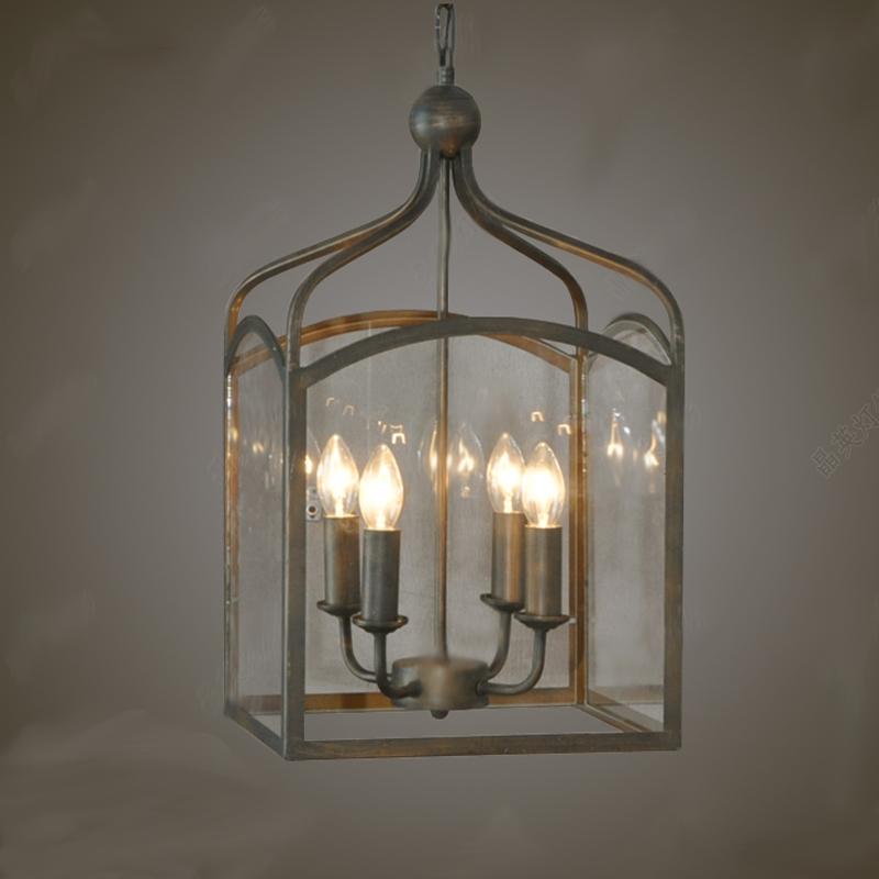 Vintage Anhnger Leuchtet Klarglas Antike Lampen Esszimmer Restaurant Dekoration Beleuchtung Freies Ems Verschiffen
