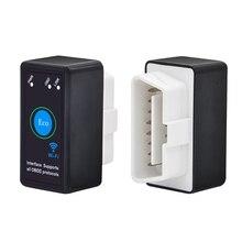2019 sıcak ELM327 OBDII OBD2 V1.5 WiFi araç teşhis kablosuz tarayıcı aracı araba aksesuarları ELM327 V1.5 M8617