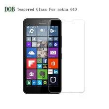 Нано-покрытием Закаленное Стекло Защитная Пленка Экран Протектор для Microsoft lumia 640xl, защитная пленка для Nokia 640xl, dual sim