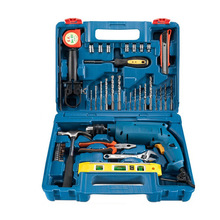 Household tools combination set impact drill hand drill set flashlight turn electric screwdriver FF04-13 стоимость