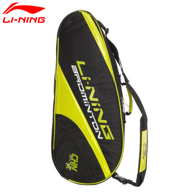 Li-Ning Badminton 3/6 Rackets Bag 73*13*29cm ABJG014 Li-Ning Racquet Shoulder Bag Men and Women Lining Sport Backpack L538