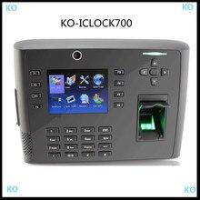 WIFI EM CARD 125KHZ Iclock700 fingerprint access control reader fingerprint time attendance with GPRS and camera
