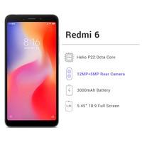 Global Version Xiaomi Redmi 6 3GB RAM Xiaomi Mobile Phones