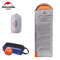 NatureHike Ultralight Camping Sleeping Bag Adult Tents Cotton Filler Envelope Outdoor Warm Spring Autumn Hiking Bags