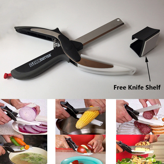 Multi-Function Smart Cutter Stainless Kitchen Scissors