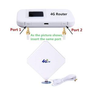 Image 2 - Antena 4G LTE TS9, Aigital 35dBi Dual Mimo TS9 antena GSM/3G amplificador de señal de antena de alta ganancia con Cable de 6 pies antena exterior