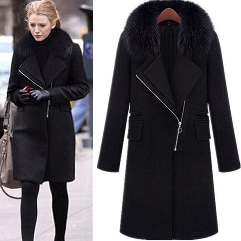 High Quality Long Black Winter Coats for Women-Buy Cheap Long