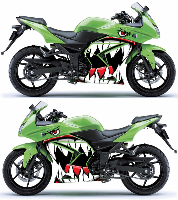 Detail Feedback Questions About Racing Car Motorcycle Ornament Shark