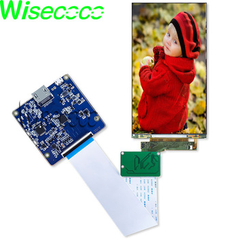 wisecoco 5.5 inch 4K 2160x3840 UHD LCD Module MIPI hdmi LCD screen display panel LS055D1SX05(G) skylarpu 7 2 inch lcd lte072t 050 2 lte072t 050 lte072t lcd display screen panel module for car dvd gps navigation system