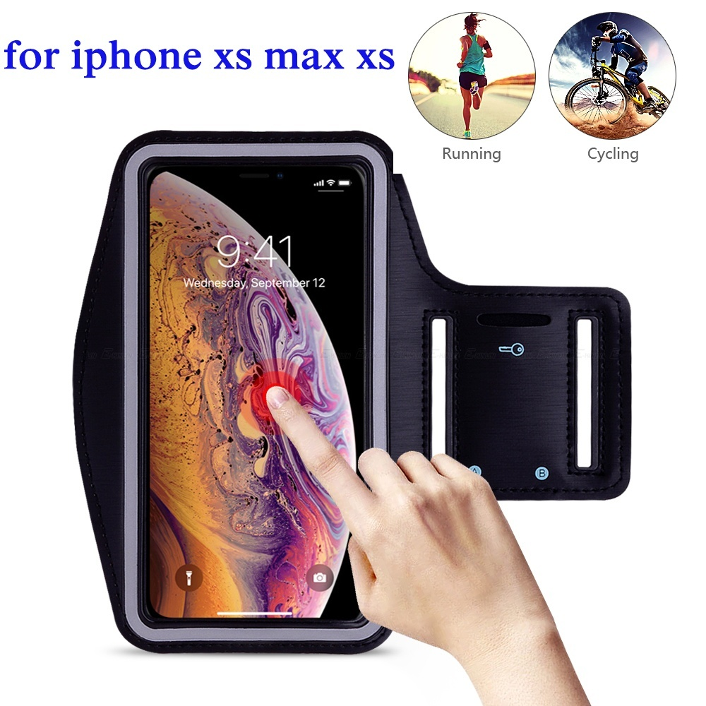 Cellphones & Telecommunications Armbands Hard-Working For Iphone Xs Max,sports Running Arm Band Phone Case Holder Pouch For Iphone X Xs Max Xr 8 7 6 6s Plus Se Workout Gym Cover Bag Factories And Mines