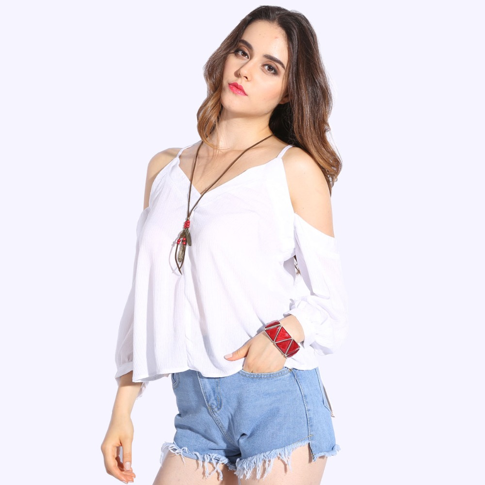 Popular Cold Shoulder Shirt-Buy Cheap Cold Shoulder Shirt lots ...