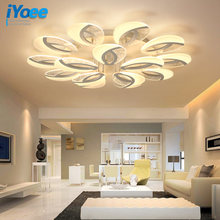 Современные светодиодные люстры для гостиной спальни столовой