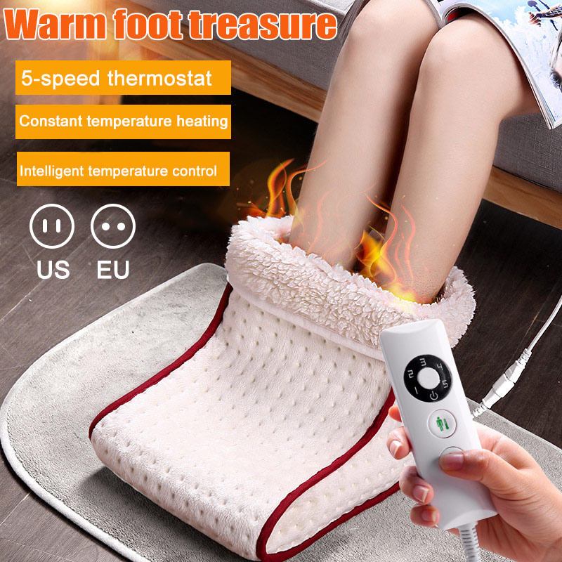 2018 Neu Elektrische Warme Fuß Schuhe Waschbar Multi-funktion Büro Schlafsaal Heizung Füße Wärmer Förderung Preis