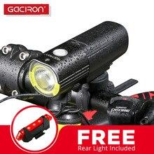 GACIRON 1000 Lumen LED Bicycle Headlight Waterproof MTB Mountain Bike Handlebar Flashlight Front Torch Light Cycling Power Bank  цена