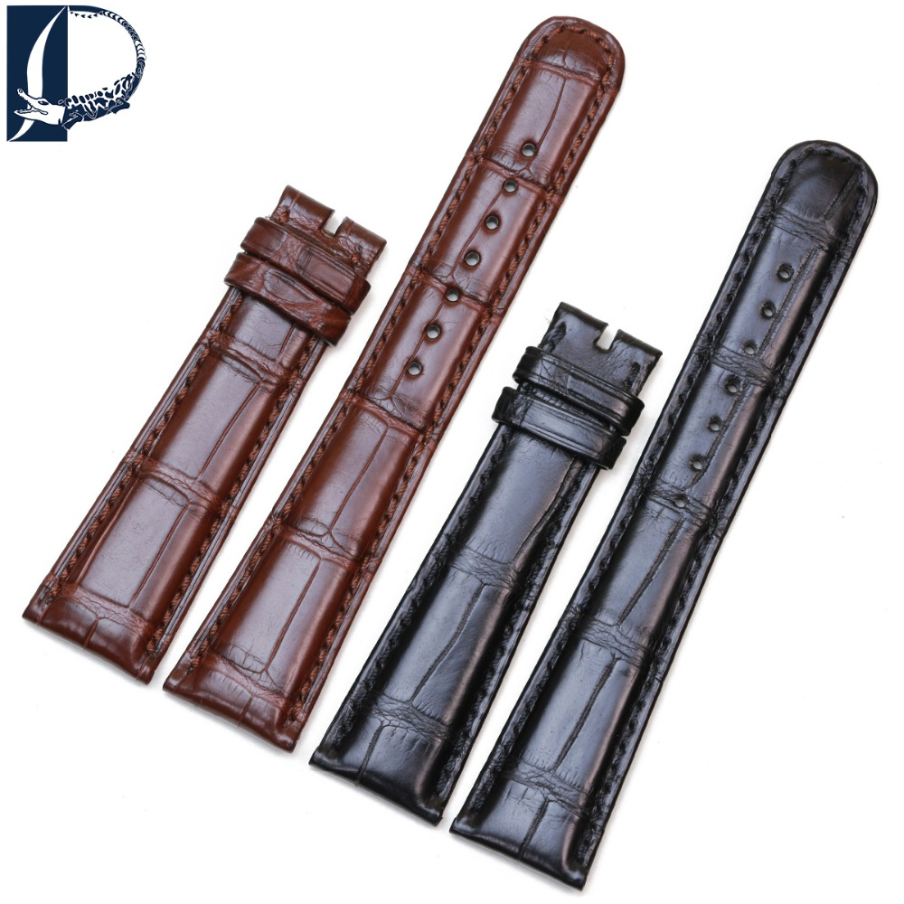 Pesno Suitable for A.Lange&Sohne SAXONIA 201/384/211 19 20mm Watchband Crocodile Leather Watch Strap Men Watch AccessoryPesno Suitable for A.Lange&Sohne SAXONIA 201/384/211 19 20mm Watchband Crocodile Leather Watch Strap Men Watch Accessory